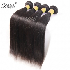 hot selling 100% real virgin brazilian silky straight remy human hair weft